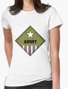 WW2 American Army Shipping Placard T-Shirt