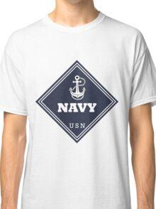 WW2 American Navy Shipping Placard Classic T-Shirt