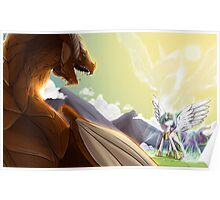 Celestia and the Dragon Poster