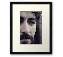 Shane IV -The Fighter Framed Print