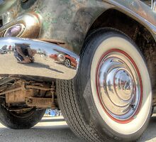 Rusted Classic Hot Rod by David Shayani