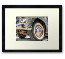 Rusted Classic Hot Rod Framed Print