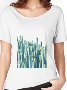 Cactus V2 #redbubble #home #lifestyle #buyart #decor Women's Relaxed Fit T-Shirt