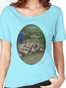 † ❤ † THE LORD IS MY SHEPARD  CHRISTIAN TEE SHIRT(BIBLICAL TEXT) † ❤ † Women's Relaxed Fit T-Shirt