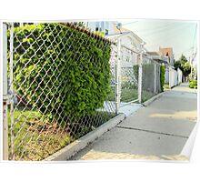 Fences - topaz Poster