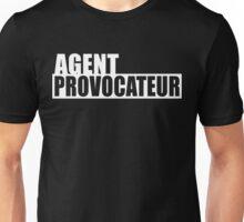Agent Provocateur (White Print) Unisex T-Shirt