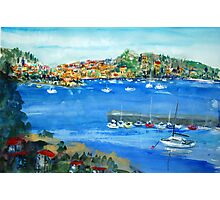 Villefranche: Where is My Villa? Photographic Print