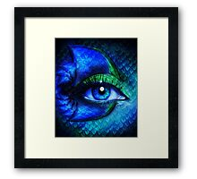 Mermaid Stare Framed Print