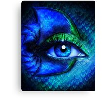 Mermaid Stare Canvas Print