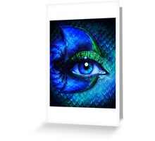 Mermaid Stare Greeting Card