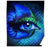 Mermaid Stare Poster