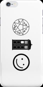 SuperWhoLock iPhone Case 4 by rycbar321