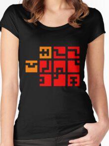 FEZ Fez Tiles Women's Fitted Scoop T-Shirt
