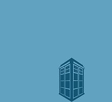 Doctor Who Tardis Mini by MeepAndMushrat