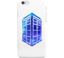 Doctor Who Tardis Galaxy Minimal iPhone Case/Skin