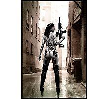 Cyberpunk Photography 037 Photographic Print