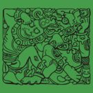 Fight Like A Mayan by GritFX