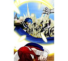 Fairy Tail Chapter 331- Jellal saves Erza Photographic Print