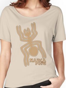 Nazca (Brown Print) Women's Relaxed Fit T-Shirt