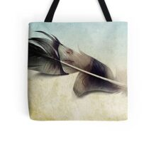 Memory of a quill Tote Bag