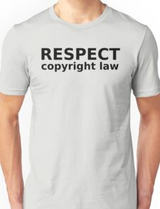 WRITTEN IN BLACK AND WHITE Unisex T-Shirt