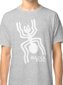 Nazca (White Print) Classic T-Shirt