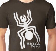 Nazca (White Print) Unisex T-Shirt