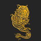 Tiger Spirit Dark by kuzzie