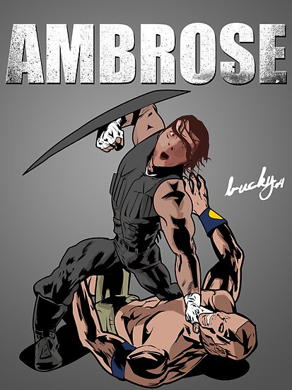 Dean Ambrose - The Shield by Bucky Sentry