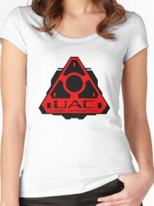 UAC - Union Aerospace [RED] Women's Fitted Scoop T-Shirt