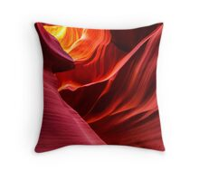Fiery Colours of The Canyon Throw Pillow