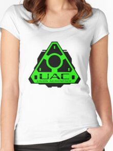 UAC - Union Aerospace [Green] Women's Fitted Scoop T-Shirt