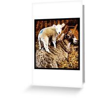Stand on me! Greeting Card