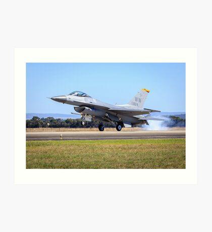 USAF F-16 Falcon Art Print