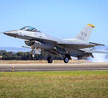 USAF F-16 Falcon by Michael Clarke