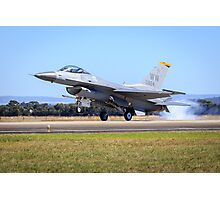 USAF F-16 Falcon Photographic Print