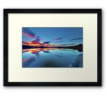 Lomond Dawns Digital Art Framed Print
