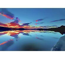 Lomond Dawns Digital Art Photographic Print