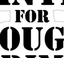 Wanted For Thought Crime Sticker