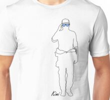 Kimi - Blue Sunglasses Unisex T-Shirt