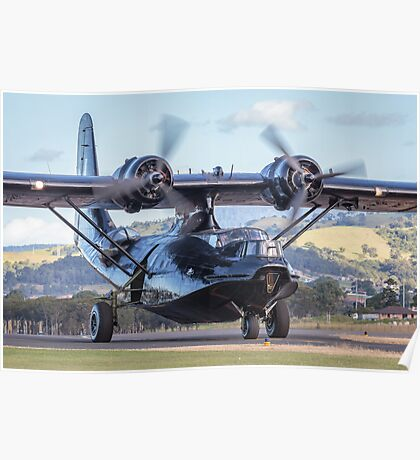 HARS PBY Catalina taxi Poster