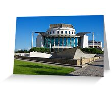 National Theatre in Budapest Greeting Card