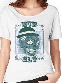 MUM VINTAGE SKULL T-SHIRT Women's Relaxed Fit T-Shirt