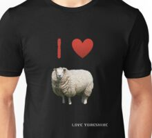 I Love Sheep - Love Yorkshire Unisex T-Shirt