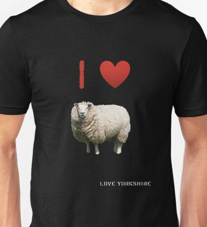 I Love Sheep - Love Yorkshire Unisex T-Shirt