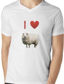 I Love Sheep - Love Yorkshire Mens V-Neck T-Shirt