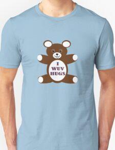 I wuv hugs Unisex T-Shirt
