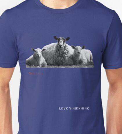 Chilled Sheep - Love Yorkshire Unisex T-Shirt