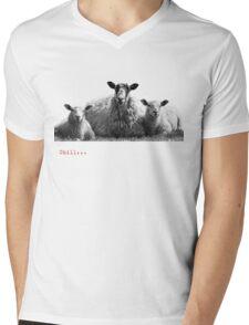 Chilled Sheep - Love Yorkshire Mens V-Neck T-Shirt