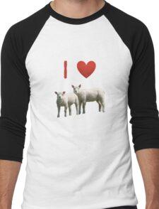 Love Lamb - Love Yorkshire Men's Baseball ¾ T-Shirt